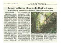 LEADER soll neue Ideen in die Region tragen